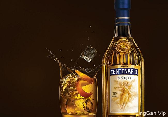 国外Gran龙舌兰酒特效视觉设计欣赏