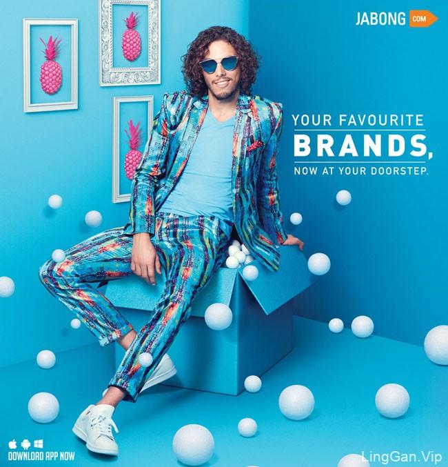国外Jabong 2016时尚宣传海报设计