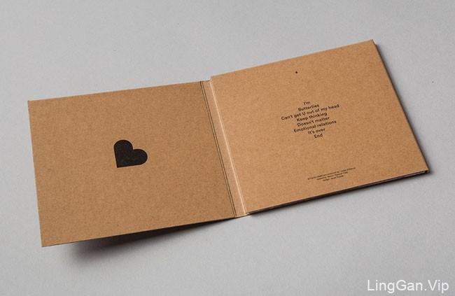 国外Butterlies限量版专辑CD外包装设计