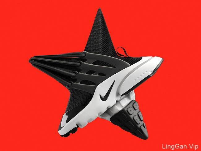 耐克Presto Ultra Flyknit运动鞋创意设计