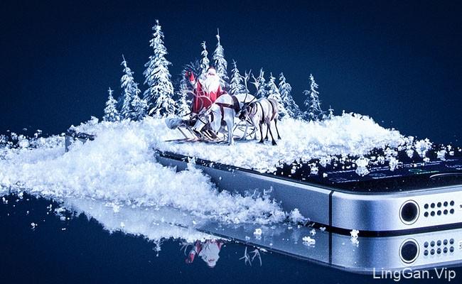 荷兰设计师Kevin圣诞主题PS合成设计