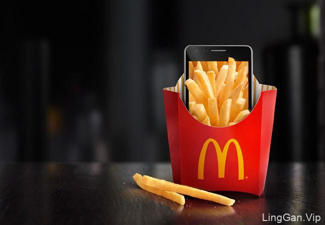 麦当劳手机APP系列创意设计