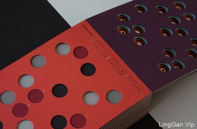 德国Hansen/2工作室创意日历设计