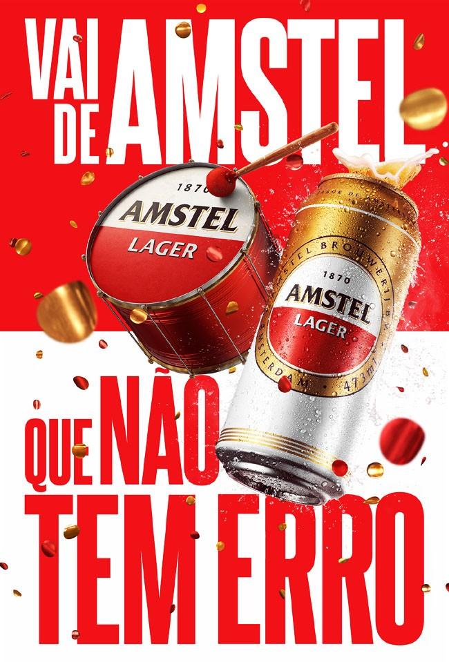 国外AMSTEL啤酒巴西狂欢节视觉设计