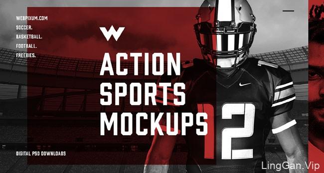 美国Brandon Williams设计团队橄榄球主题设计