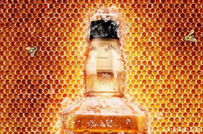 Jack Daniel''s蜂蜜威士忌系列创意平面广告