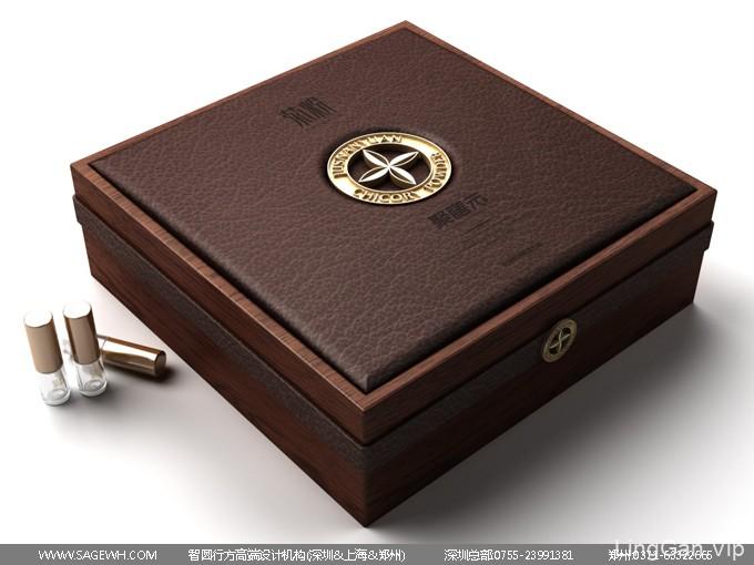 益生菌包装设计 益生元木盒包装设计 菊粉产品包装设计