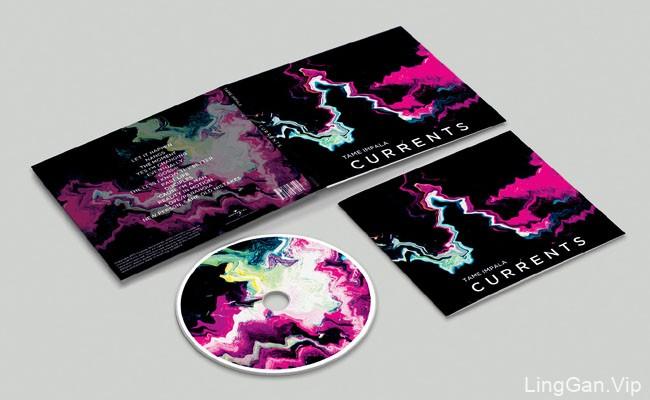 国外漂亮的TAME IMPALA艺术CD设计