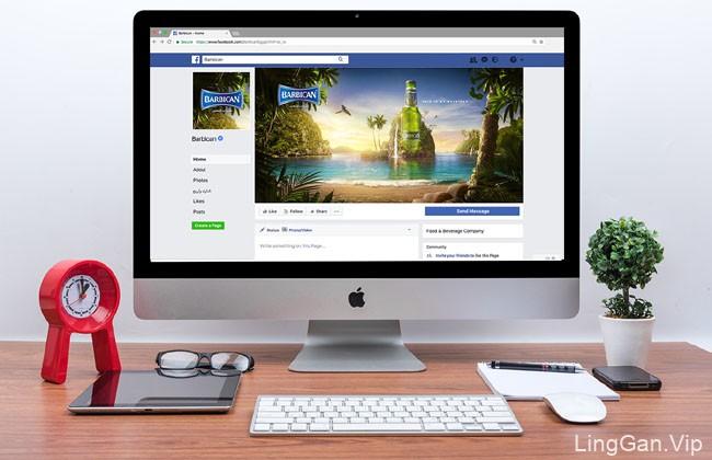 国外Barbican啤酒系列数码平面广告设计