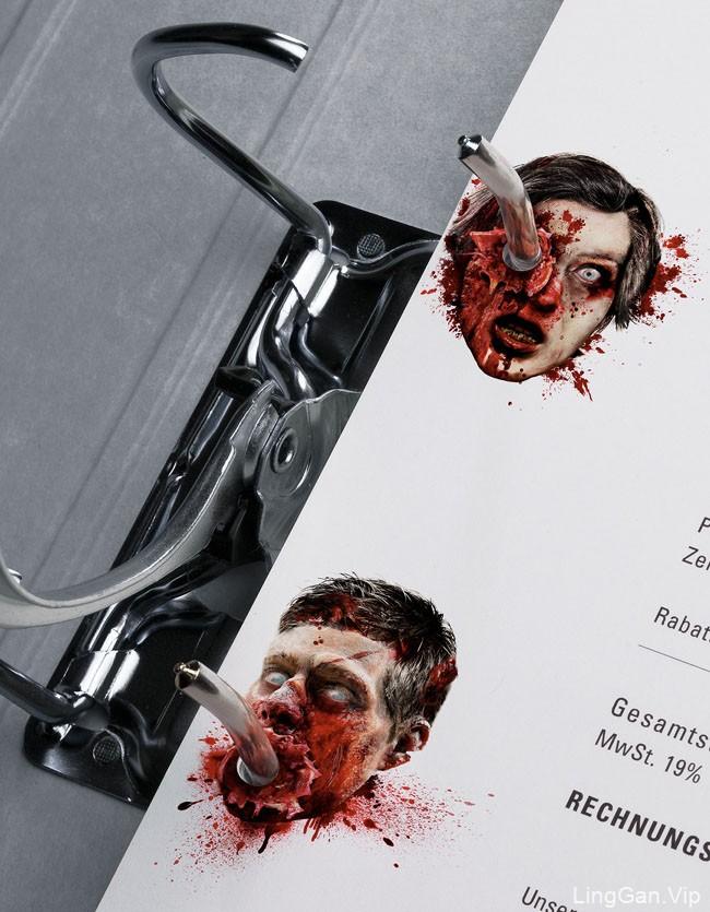 国外重口味的13th Street恐怖文具创意设计