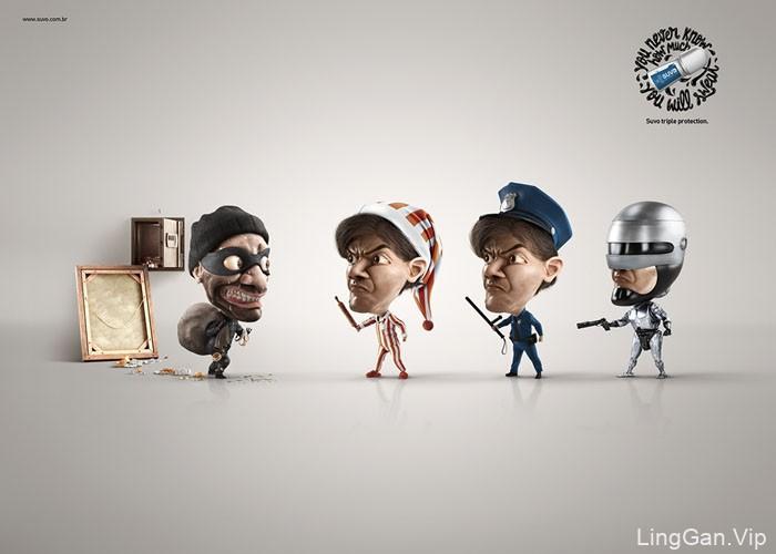 巴西SUVO除汗爽系列创意广告设计