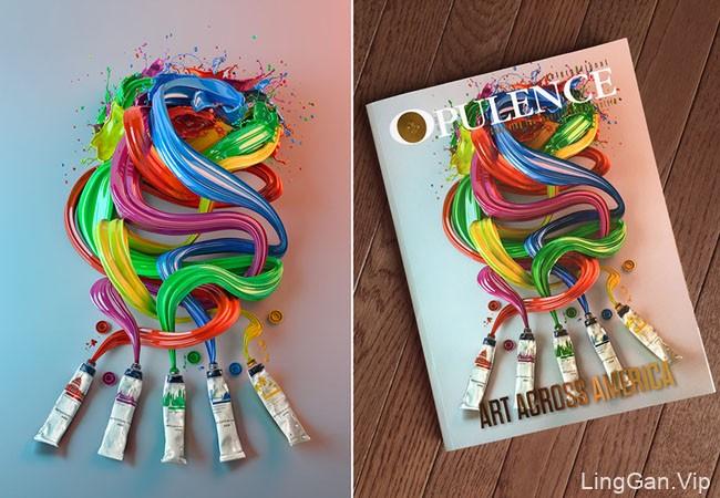 美国设计师Mike Campau视觉艺术创意设计