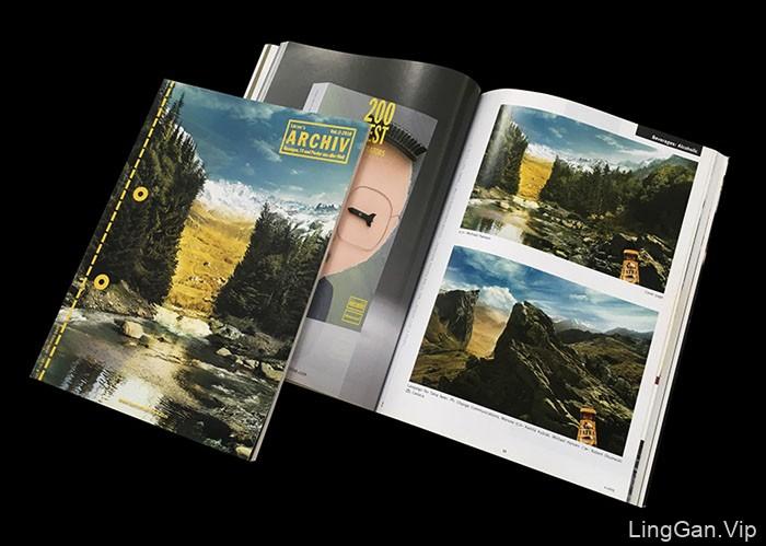 国外TATRA啤酒系列创意平面广告设计