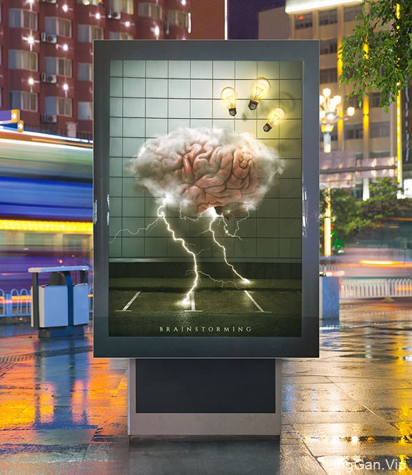 印尼Novans概念艺术海报设计展示8P