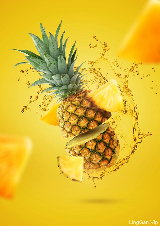 国外设计师Joao Paulo切水果平面视觉设计作品