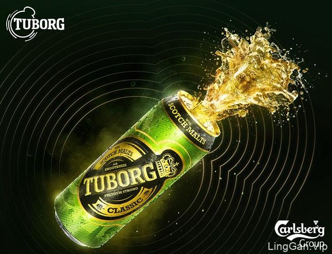 印度Tuborg啤酒数码平面广告设计作品
