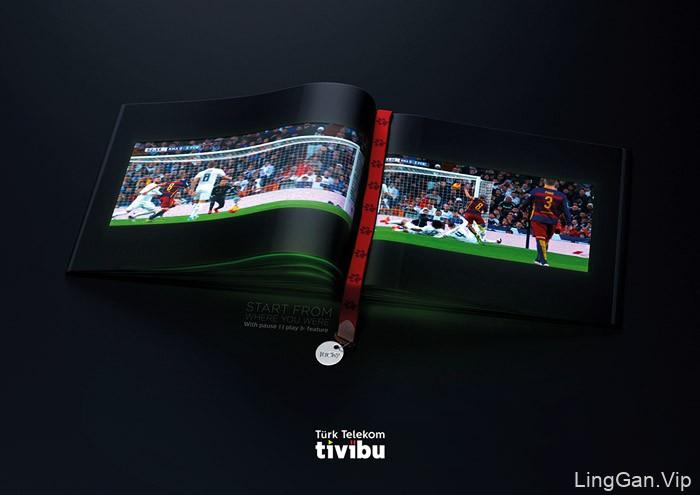 土耳其电信tivibu系列创意广告设计