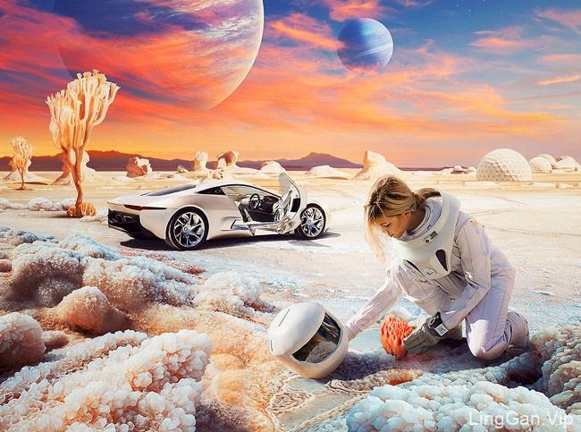 国外设计师Pavel Protsenko汽车主题数码合成设计