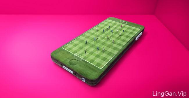 3 Mobile手机无限数据服务系列平面广告设计