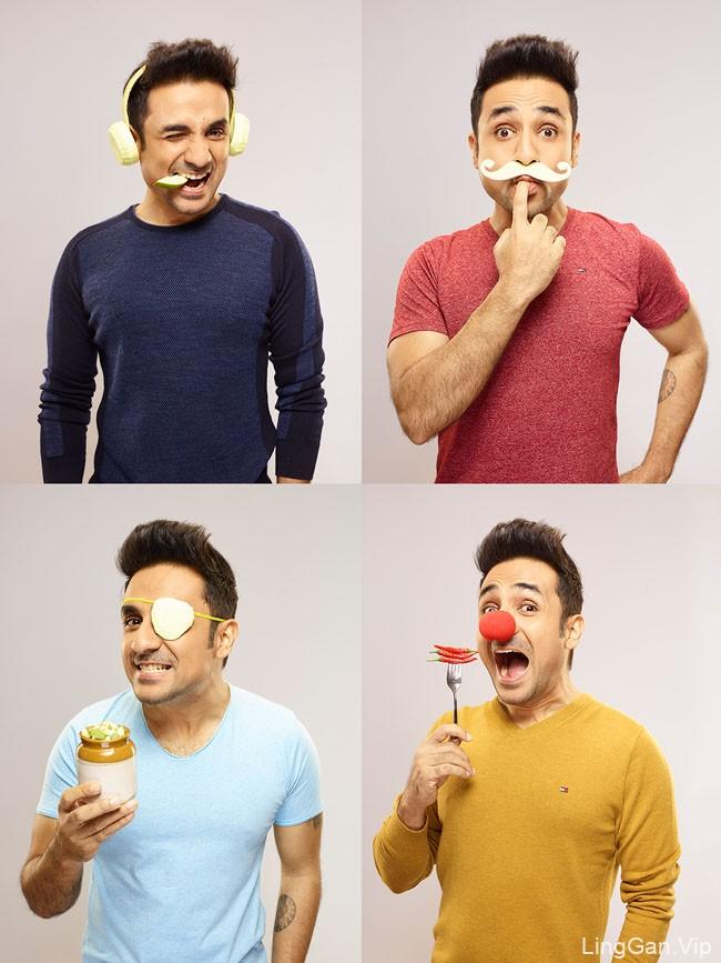 国外GO CHEESE奶酪品牌趣味创意设计作品