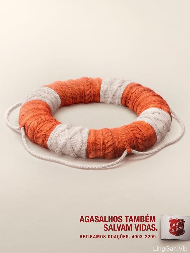 Agasalhos救生衣系列创意广告作品