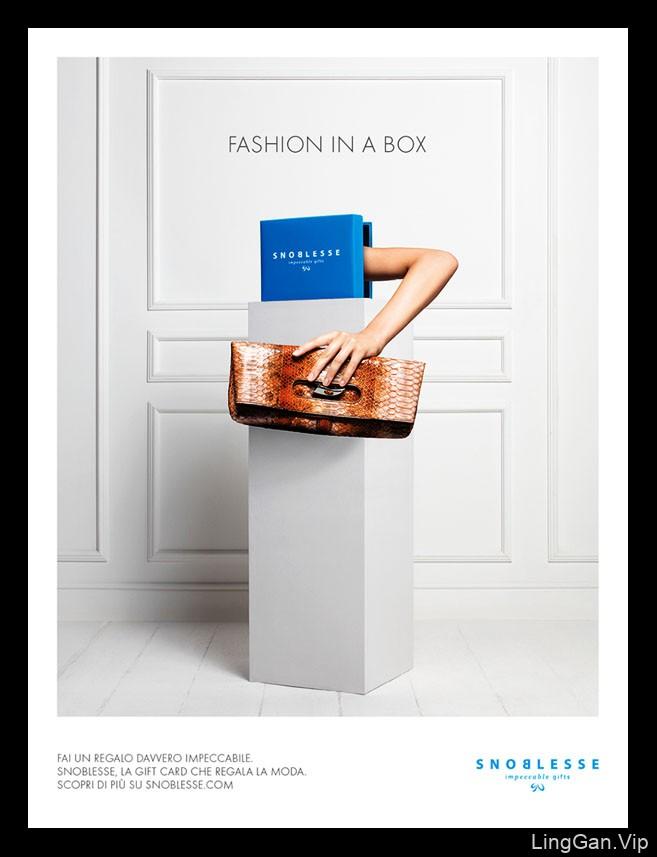 Snoblesse系列创意平面广告作品