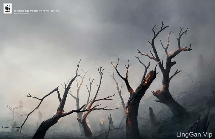 WWF保护环境系列公益广告作品