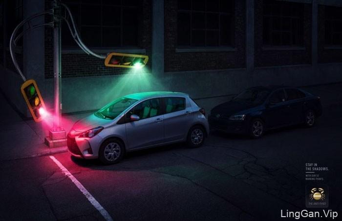 Sherlock汽车警报锁创意平面广告设计作品