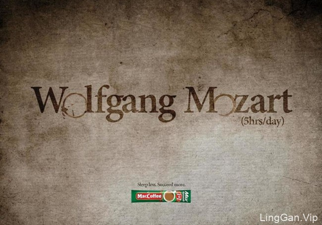 Maccoffee咖啡系列文化类平面广告设计作品