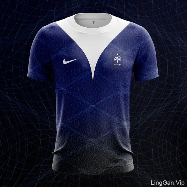 2018俄罗斯世界杯T恤套装设计
