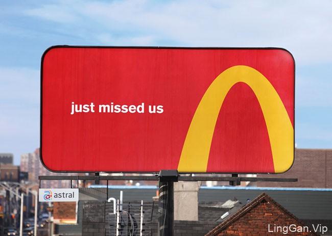 麦当劳户外创意广告设计作品