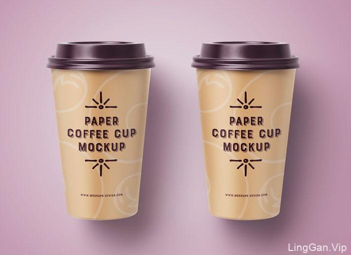 国外设计师Mockups Design咖啡杯模版设计作品