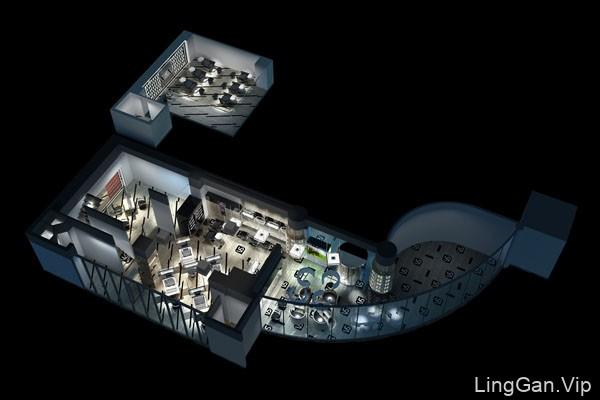 品彦设计案例鉴赏:兰州琉璃时光SPA会所设计