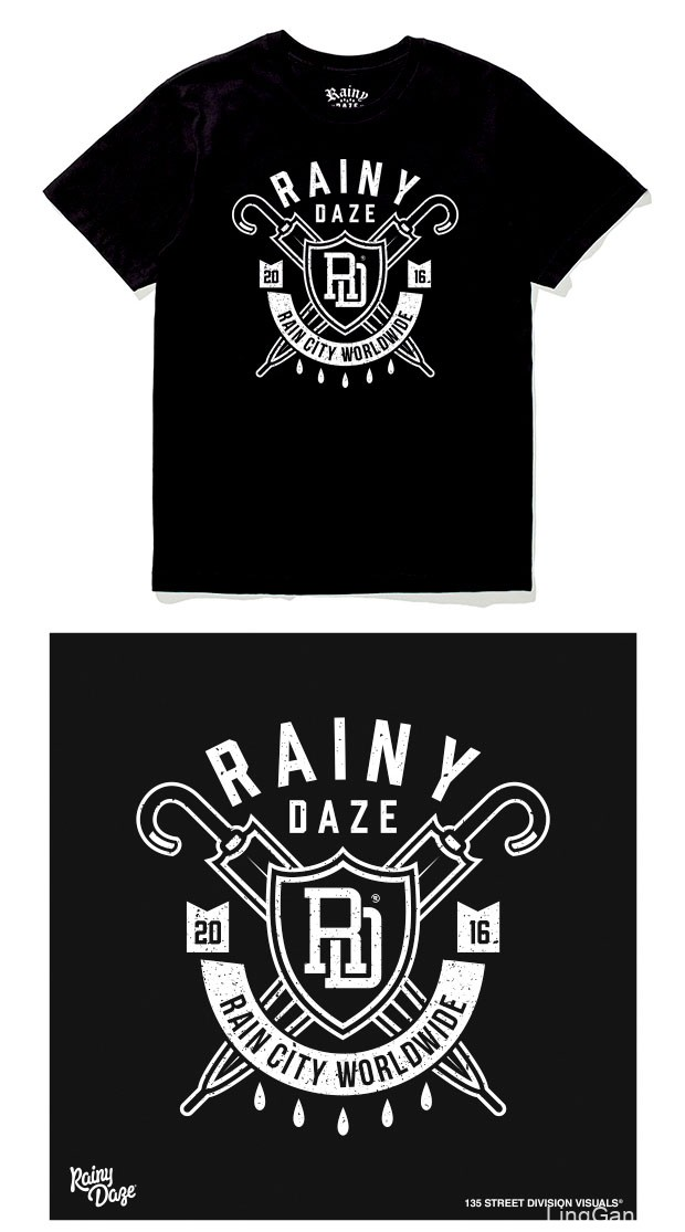 Oleg Gontarev时尚T恤图案设计