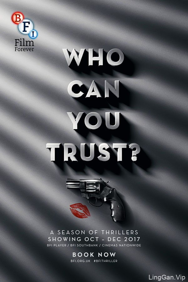 BFI英国电影协会系列宣传创意广告