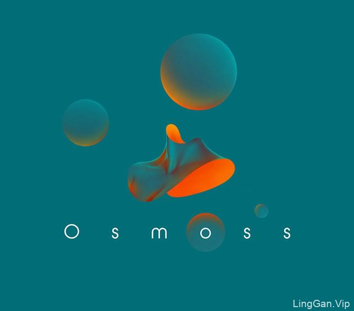Osmoss概念视觉艺术设计