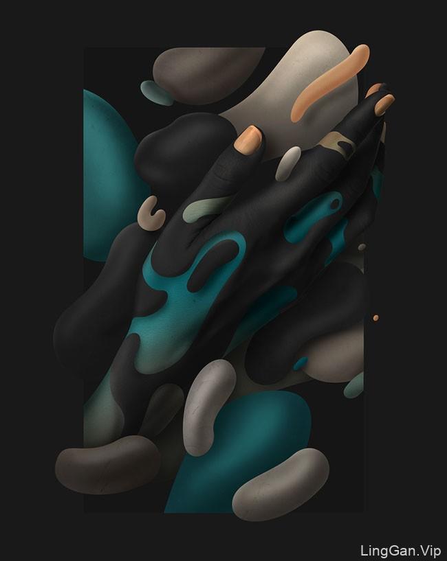Human Fluidity主题数码艺术设计