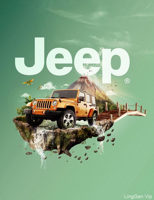 Jeep World吉普世界系列数码视觉设计