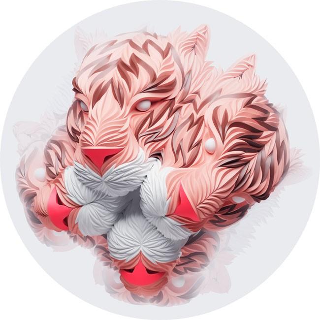 俄罗斯Maxim Shkret概念动物图腾数码艺术设计
