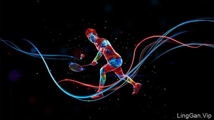 巴西Gabriel Bueno体育运动数码艺术设计