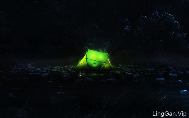 Decathlon迪卡侬户外帐篷系列创意广告