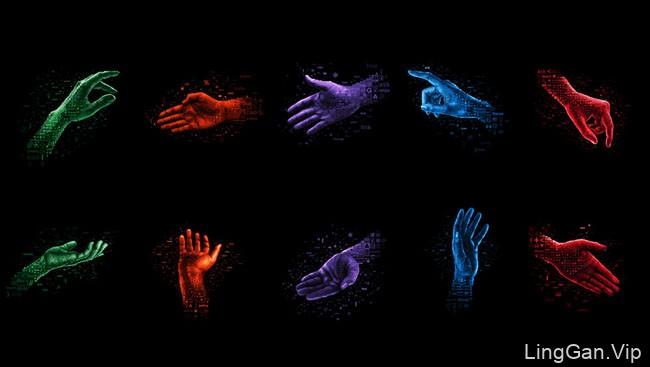 美国医疗集团管理协会MGMA手主题数码艺术设计