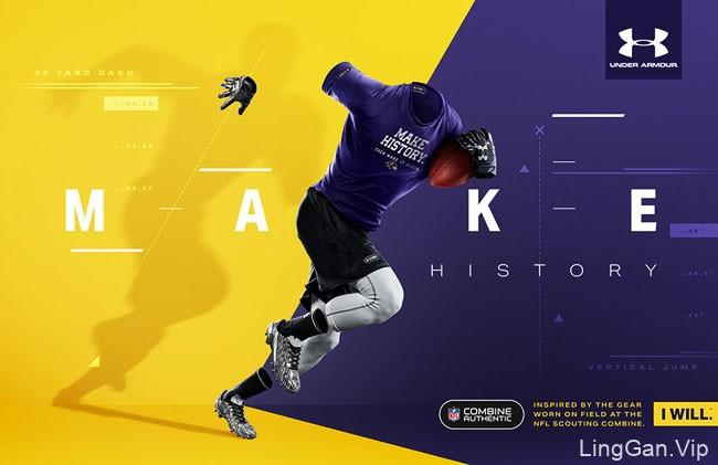 Under Armour安德玛体育运动品牌平面广告设计