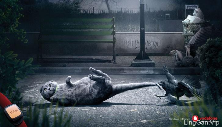 V-Pet宠物定位系统宣传广告设计