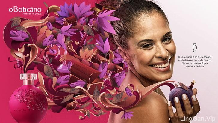 巴西oBoticario化妆品与香水品牌平面广告
