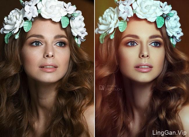 英国DnJ Image人修图像处理前后对比图