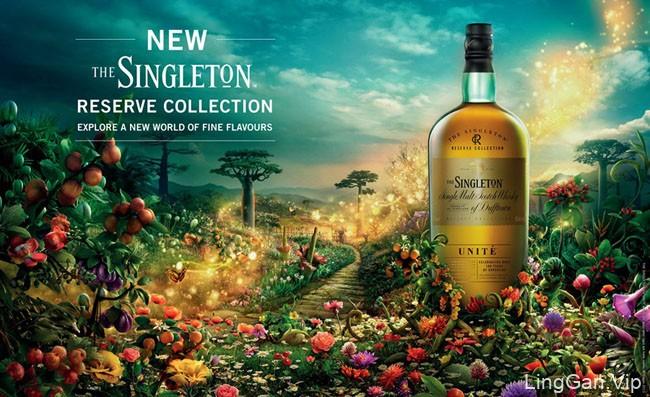 唯美的苏格兰威士忌PS合成设计