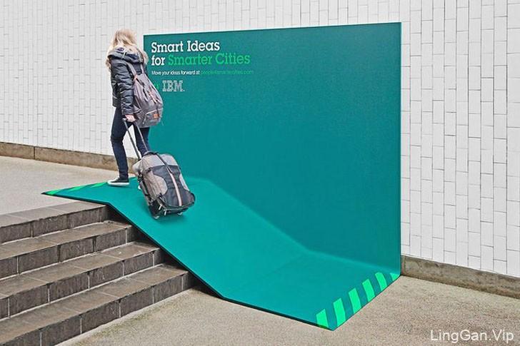 IBM Smarter Cities智慧城市户外广告牌设计