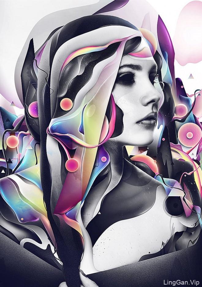 Rik Oostenbroek数字艺术设计作品